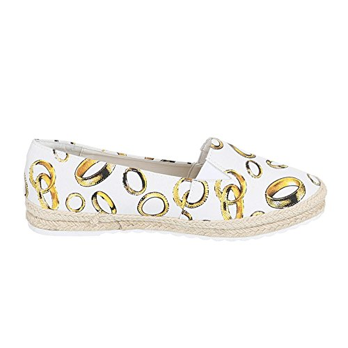 Ital-Design - Zapatillas de casa Mujer Blanco - blanco