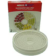 Nesco Add-A-Tray Cooking Trays 2/Box Opaque White