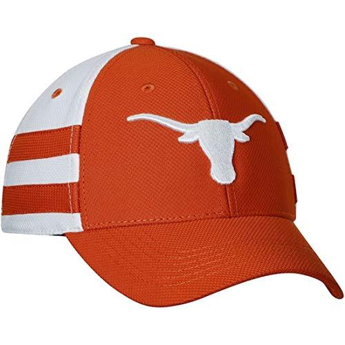 289c Apparel Men's Texas Orange/White Texas Longhorns Graham Flex Hat S/M ()