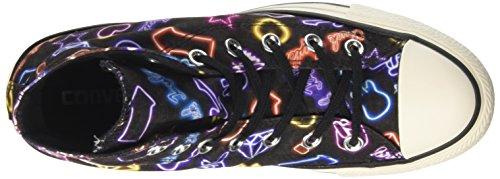 white Ctas black Multicolore white Converse Hi Sneakers Femme UwTxwq10