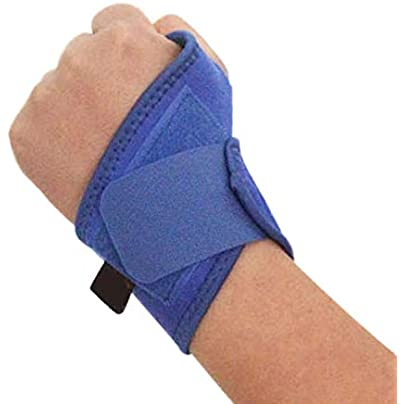 1Pcs Lot Professional Wristband Sports Safety Adjustable Wrist Support Gym Carpal Tunnel Badminton Tennis Wrist Wraps Bandage Estimated Price £8.29 -