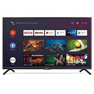 "Sharp Aquos LC-32Bi6E 32"" Android 9.0 Smart TV 10 bit HD Ready LED TV, Wi-Fi, DVB-T2/S2, 1366 x 768 Pixels, Nero, suono Harman Kardon, 3xHDMI 2xUSB, 2020 [Classe di efficienza energetica A+] 20"