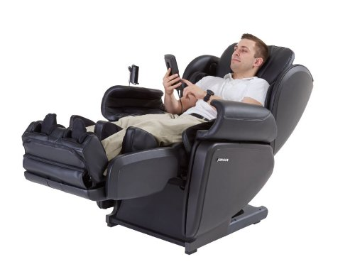 Cheap Johnson Wellness J6800 Ultra High Performance Deep Tissue Japanese Designed 4D Massage Chair, Black