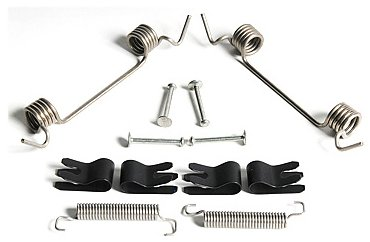 ACDelco 179-2228 GM Original Equipment Rear Parking Brake Hold Down Springs with Clips and Pins
