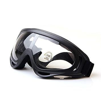QMFIVE UV400 Gafas Airsoft Prueba de Viento A Prueba de Polvo Protección Táctica Gafas de Motocicleta Lente Transparente para la Ciclismo esquí al ...