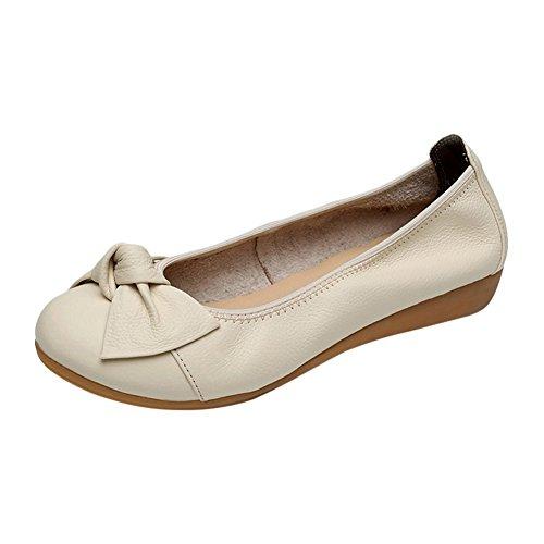 Beige A Mode Chaussures Escarpins Plates Frestepvie Ballerines Femmes Pour TlJ1c3FK