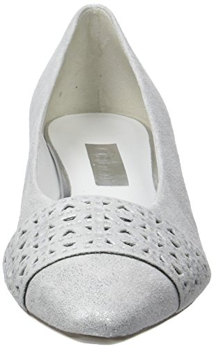 Ice 61 Fashion Blanc Escarpins Gabor Absatz Femme Shoes Xwvq7q