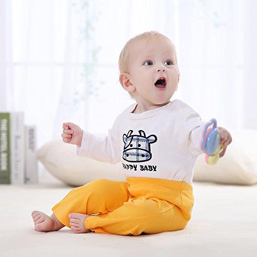 Decdeal - Pack de 3 Pantalones para Bebés Recién Nacidos de 100% Algodón  Unisex  Amazon.es  Ropa y accesorios 8ae18a97a41