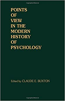 Book Points of View in the Modern History of Psychology