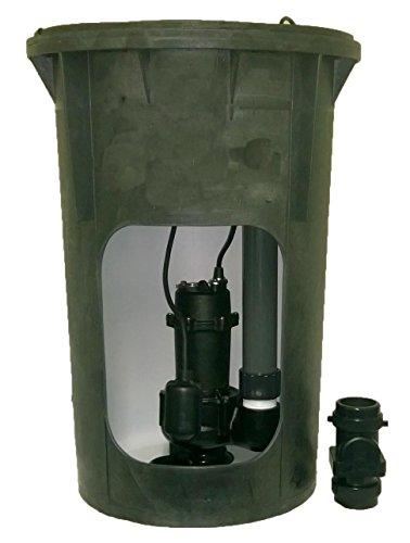 (Jackel Pre-Plumbed 1/2 HP Sewage Package (Model: JPACK30S-550T))