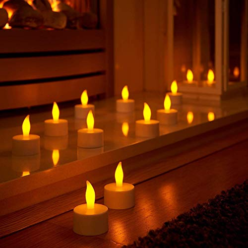 Starvin Led Tea Light Candles Diwali Gift || Home Decor Birthday || Festivals ||All Purpose Gift || Candle for Home…