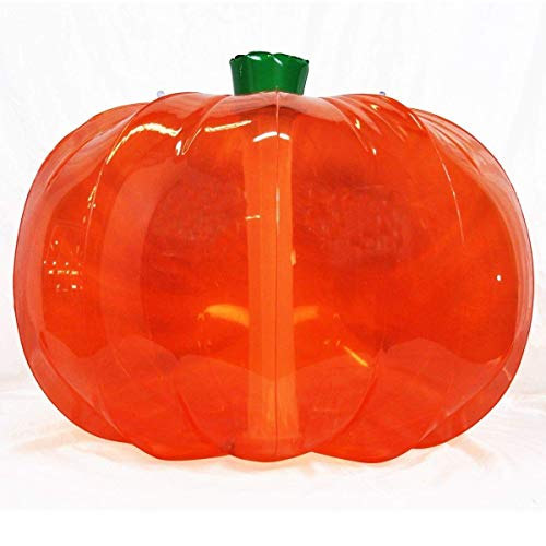 Jet Creations Halloween Inflatable Pumpkin Thanksgiving Indoor Outdoor Yard 36 inch diameter Orange DIY Craft Party Decor Dry Erase Friendly,