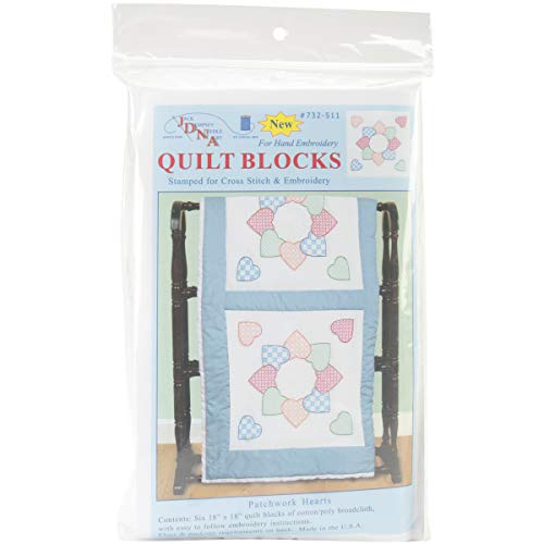 - Jack Dempsey Stamped White Quilt Blocks 18