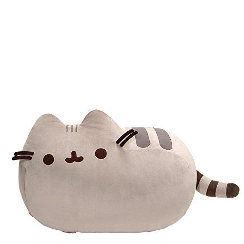(GUND Pusheen Cat Super Jumbo Plush Stuffed Animal, Gray, 41