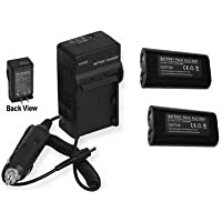 TWO KLIC8000 Batteries + Charger for Kodak Z8612 IS ZD8612, Kodak Z712IS Z812IS Z1012IS