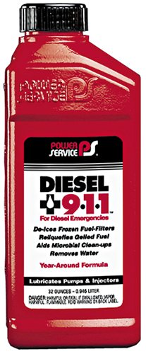 Power Service 08025-12-12PK Diesel 9-1-1 Anti-Gel - 32 oz., (Case of 12) by Power Service