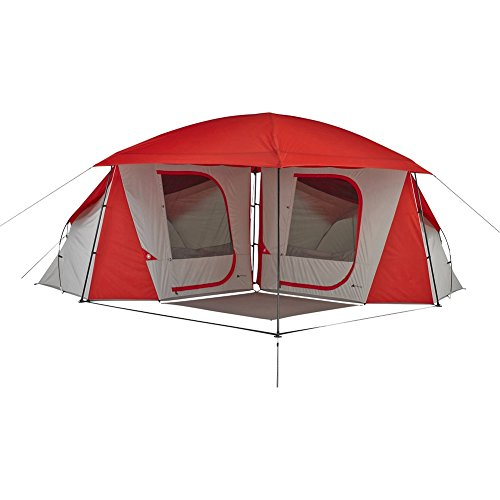 Ozark Trail 8-Person Dome ConnecTent with Versatile Canopy by Ozark Trail