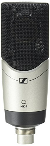Large-Diaphragm, Side-Address Microphone with 24-Carat-Gold-Plated Diaphragm, ME