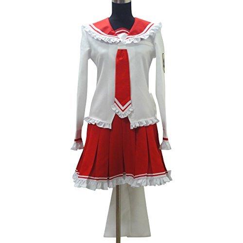 Japanes Anime Cosplay Costumes-Aria the Scarlet-Ammo Riko Mine -