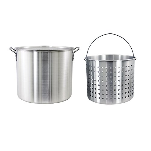 60 quart stock pot basket - 4