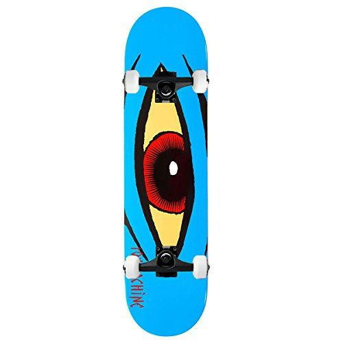 Toy Machine Skateboard Complete Sect Eye Blue 7.875