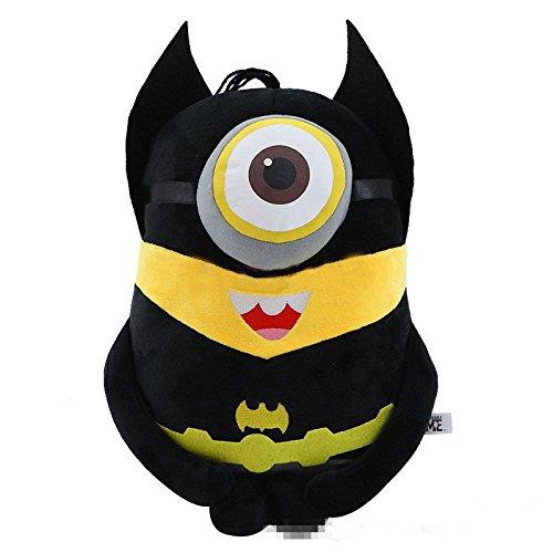[20 CM, (Batman) Mini Minions Cosplay Anime Plush Doll] (Gru Dog Costume)