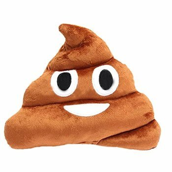 3 X Etosell Stuffed Pillow Cushion Emoji Poop Shaped Smiley Face Doll Toy 1 PC