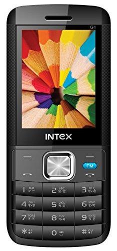 Intex Lions G1 (Black-Blue)- Unlocked International Model, No Warranty