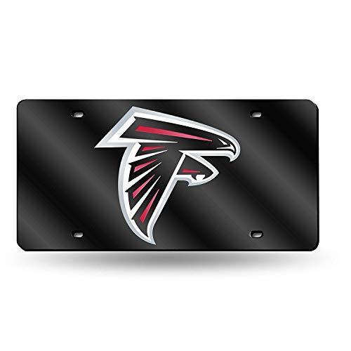 - IRANMUN NFL Atlanta Falcons Laser Inlaid Metal License Plate Tag
