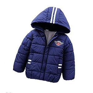 Bold N Elegant Full Sleeve Winter Bomber Jacket Hoodie Coat for Infant Toddler Baby Boys Girls