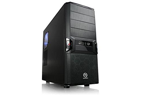Thermaltake V3 Black Edition SECC/Plastic ATX Mid Tower Computer Case VL80001W2Z (Black)