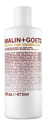Malin + Goetz Hair Conditioner, Cilantro, 16 Ounce