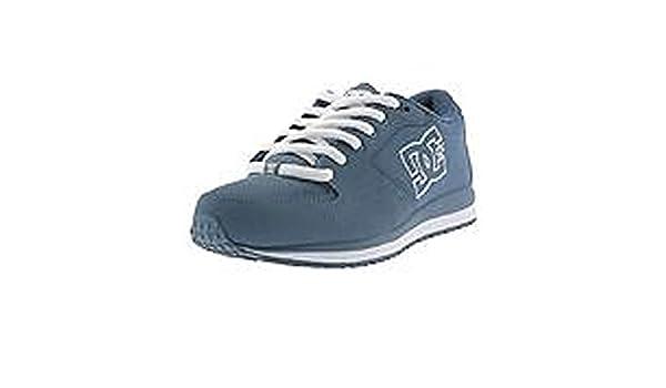 DC Shoes DC Alias Shady Blue - Zapatillas de piel de cerdo para mujer Shady Blue, color, talla 38