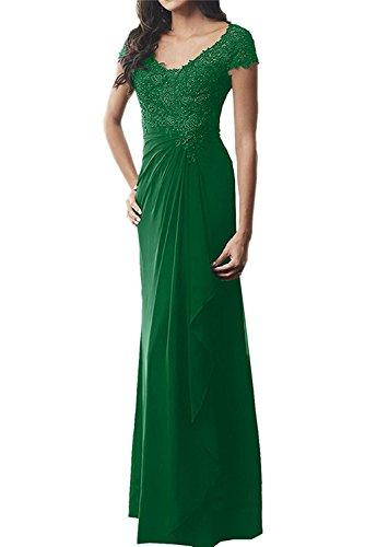 Marie Etuikleider Promkleider Spitze Lang Abendkleider La Brautmutterkleider mit Festlichkleider Grün Braut BqnPxd