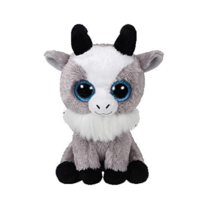 Amazon Com Ty Beanie Boos Gabby Goat 7 Inch Regular Toys Games