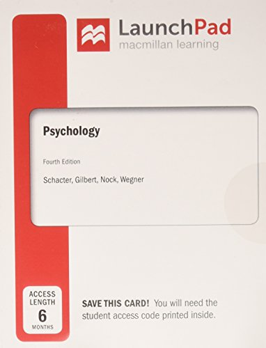 Psychology Launchpad Access (6 Months)