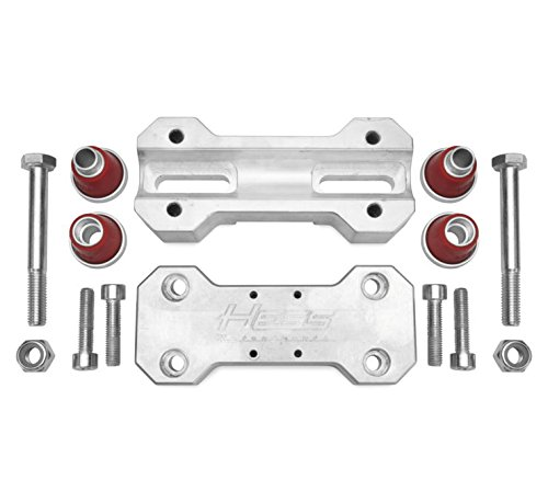 Hess Motorsports 801001 Billet Handlebar Clamp for 7/8in. and 1 1/8in. Handlebars