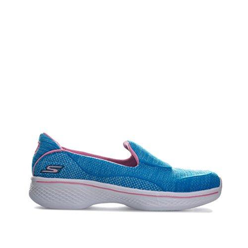 Skechers Go Step (Blue Pink) - 5