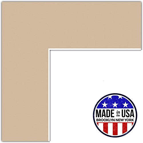22x28 Dune/Scotch Mist Custom Mat for Picture Frame with 18x24 opening size (Mat Only, Frame NOT - Scotch Mat