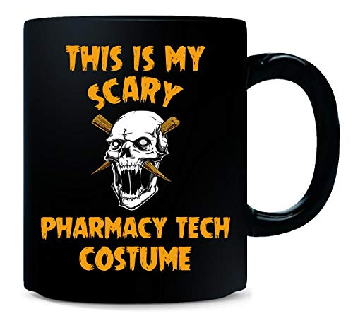 This Is My Scary Pharmacy Tech Costume Halloween Gift - -