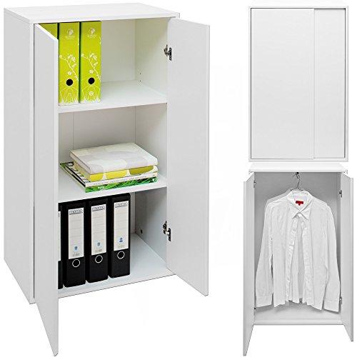 Mehrzweckschrank Quattro - Regalkommode Aktenschrank Wandregal Bücherregal Kleiderschrank