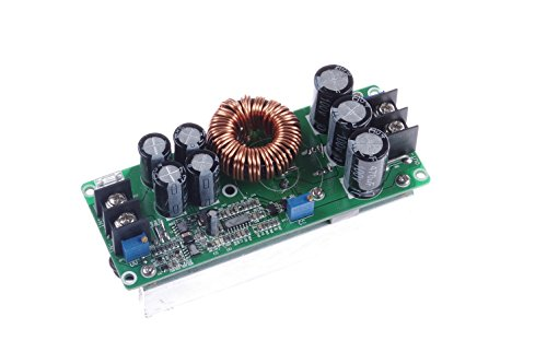 KNACRO New 1200W 20A DC Boost Voltage Converter 10-60V to 12-80V Step-up Power Supply Transformer Module Regulator Controller Constant Volt/Amp Car Regulated Laptop Battery Charger LED (20a Charger Module)