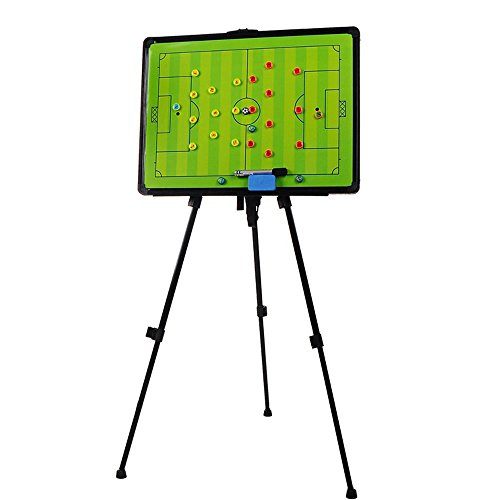 Odowalker Soccer Football Tactic Coaching Board Strategy Game Plan Whiteboard Dry Erase Marker Board Training Equipment - Large Size with Tripod Stand and Carrying Tote by Odowalker (Image #6)'