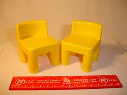 LITTLE TIKES DOLLHOUSE CHAIRS