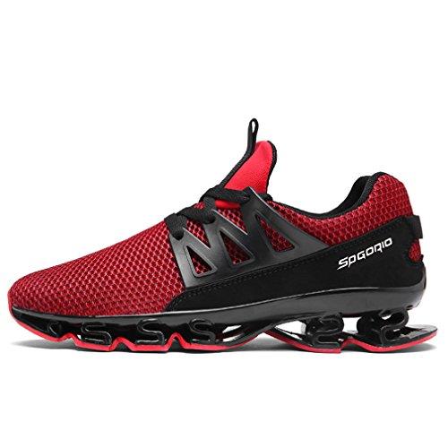 Hommes Solshine Maille Chaussures De Fitness Sport Jogging Course Schn