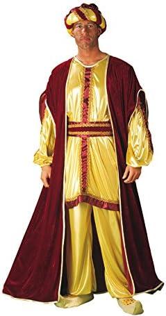 Disfraz de Rey Mago Baltasar Oro Navidad: Amazon.es: Juguetes y juegos