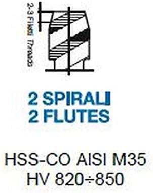 1X Gelbring Maschinen Gewindebohrer HSS-CO M 3 x 0.5 DIN 371/C-40°