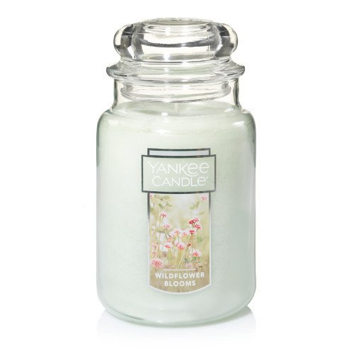 Yankee Candle Wildflower Blooms, Floral Scent Fields Jar Candle