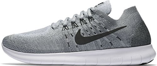 8e952b6a93e4e Galleon - Nike Men s Free RN Flyknit 2017 Running Shoe WOLF GREY BLACK- ANTHRACITE-COOL GREY 13.0