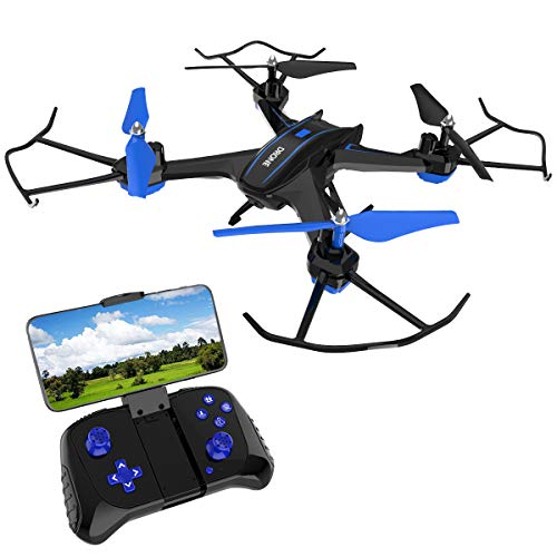 Remokids FPV RC Drone with 720P HD Camera Live Video 2.4GHz 6-Axis...